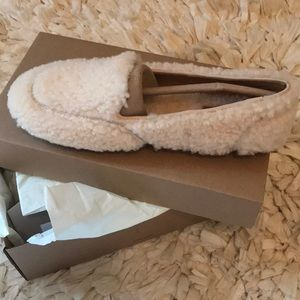 Ugg hailey fluff loafers